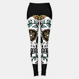 Mexican Skull Leggings thumbnail image