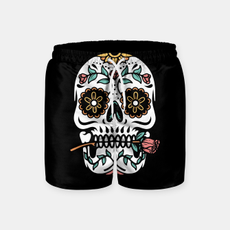 Mexican Skull Swim Shorts thumbnail image
