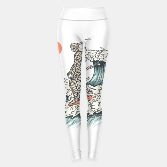 Thumbnail image of Mummy Surfing Leggings, Live Heroes