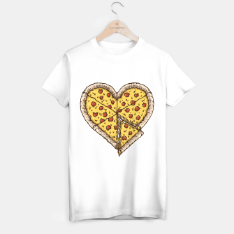 Thumbnail image of Pizza Lover T-shirt regular, Live Heroes