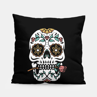 Mexican Skull Pillow thumbnail image