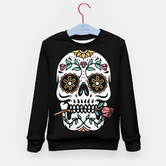 Mexican Skull Kid's sweater thumbnail image