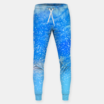 Miniatur Cosmic blue sky ( digital watercolor ) Sweatpants, Live Heroes