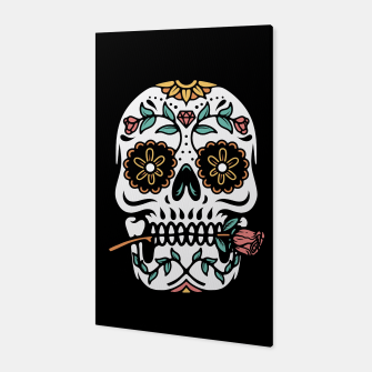 Mexican Skull Canvas thumbnail image