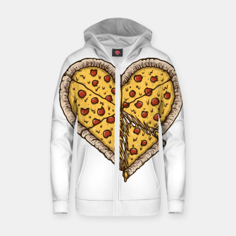 Miniatur Pizza Lover Zip up hoodie, Live Heroes