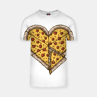 Thumbnail image of Pizza Lover T-shirt, Live Heroes