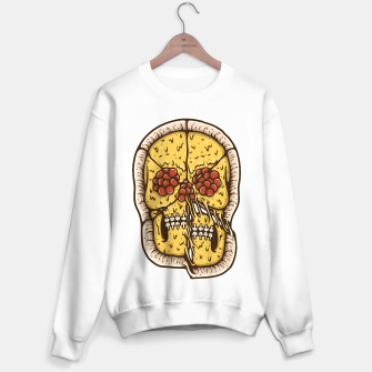 Miniatur Pizza Skull Sweater regular, Live Heroes