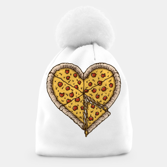 Thumbnail image of Pizza Lover Beanie, Live Heroes