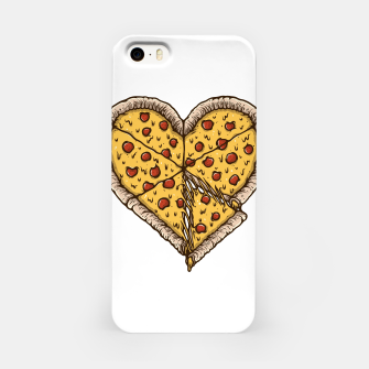 Miniatur Pizza Lover iPhone Case, Live Heroes