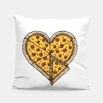 Miniatur Pizza Lover Pillow, Live Heroes