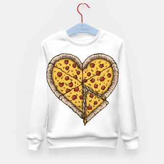 Miniatur Pizza Lover Kid's sweater, Live Heroes