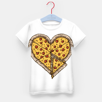 Miniatur Pizza Lover Kid's t-shirt, Live Heroes