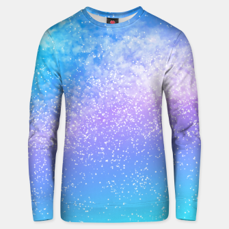 Thumbnail image of Cosmic rainbow sky ( digital watercolor ) Unisex sweater, Live Heroes