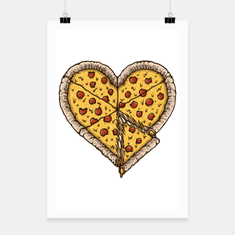 Miniatur Pizza Lover Poster, Live Heroes