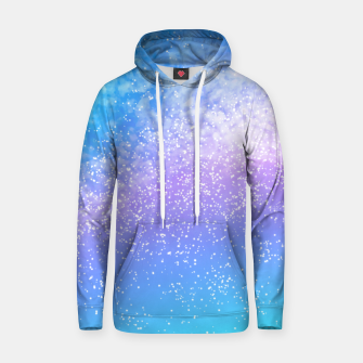 Miniatur Cosmic rainbow sky ( digital watercolor ) Hoodie, Live Heroes