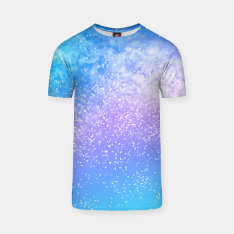 Miniatur Cosmic rainbow sky ( digital watercolor ) T-shirt, Live Heroes