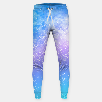 Thumbnail image of Cosmic rainbow sky ( digital watercolor ) Sweatpants, Live Heroes