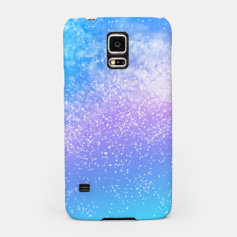 Miniatur Cosmic rainbow sky ( digital watercolor ) Samsung Case, Live Heroes