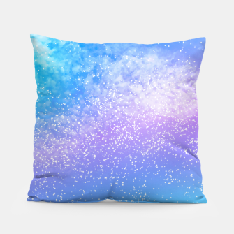 Thumbnail image of Cosmic rainbow sky ( digital watercolor ) Pillow, Live Heroes