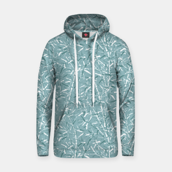 Thumbnail image of Bamboo Forest in Teal Blue Hoodie, Live Heroes