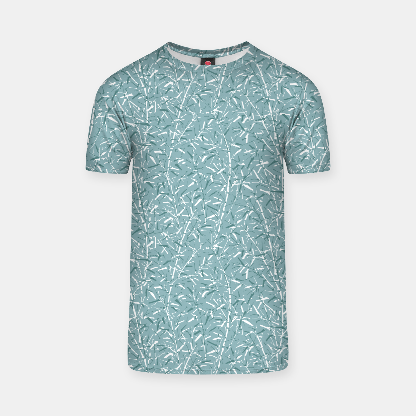Foto Bamboo Forest in Teal Blue T-shirt - Live Heroes
