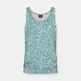 Thumbnail image of Bamboo Forest in Teal Blue Tank Top, Live Heroes