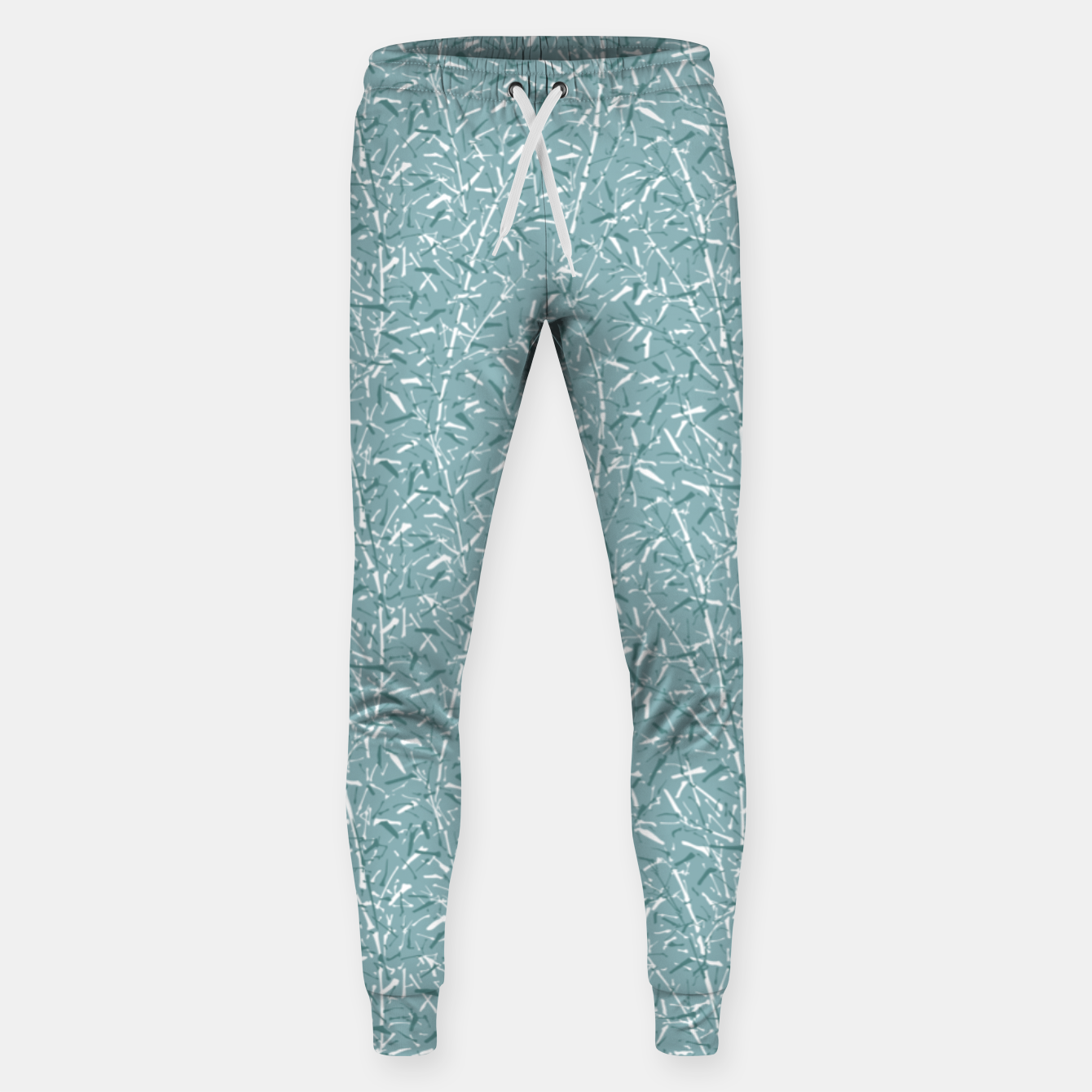 Foto Bamboo Forest in Teal Blue Sweatpants - Live Heroes