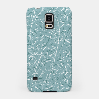 Bamboo Forest in Teal Blue Samsung Case Bild der Miniatur
