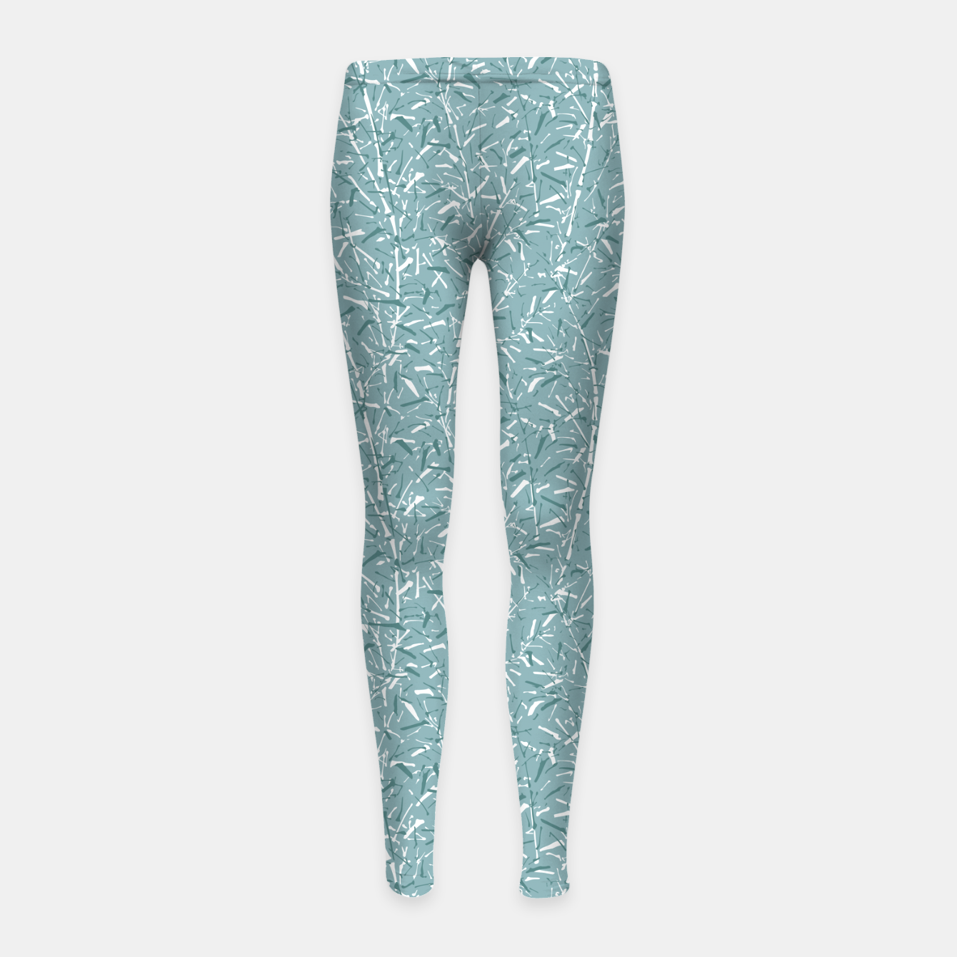Foto Bamboo Forest in Teal Blue Girl's leggings - Live Heroes