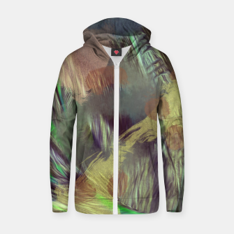 Thumbnail image of Forest Zip up hoodie, Live Heroes