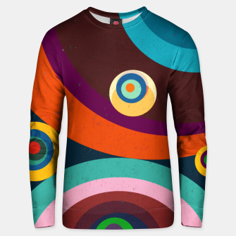 Thumbnail image of circles Unisex sweater, Live Heroes