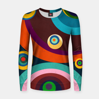 Thumbnail image of circles Women sweater, Live Heroes