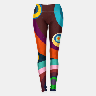Thumbnail image of circles Leggings, Live Heroes