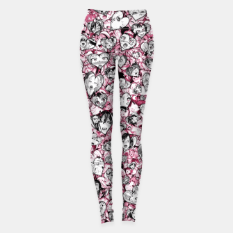 Thumbnail image of Ahegao Valentine Leggings, Live Heroes