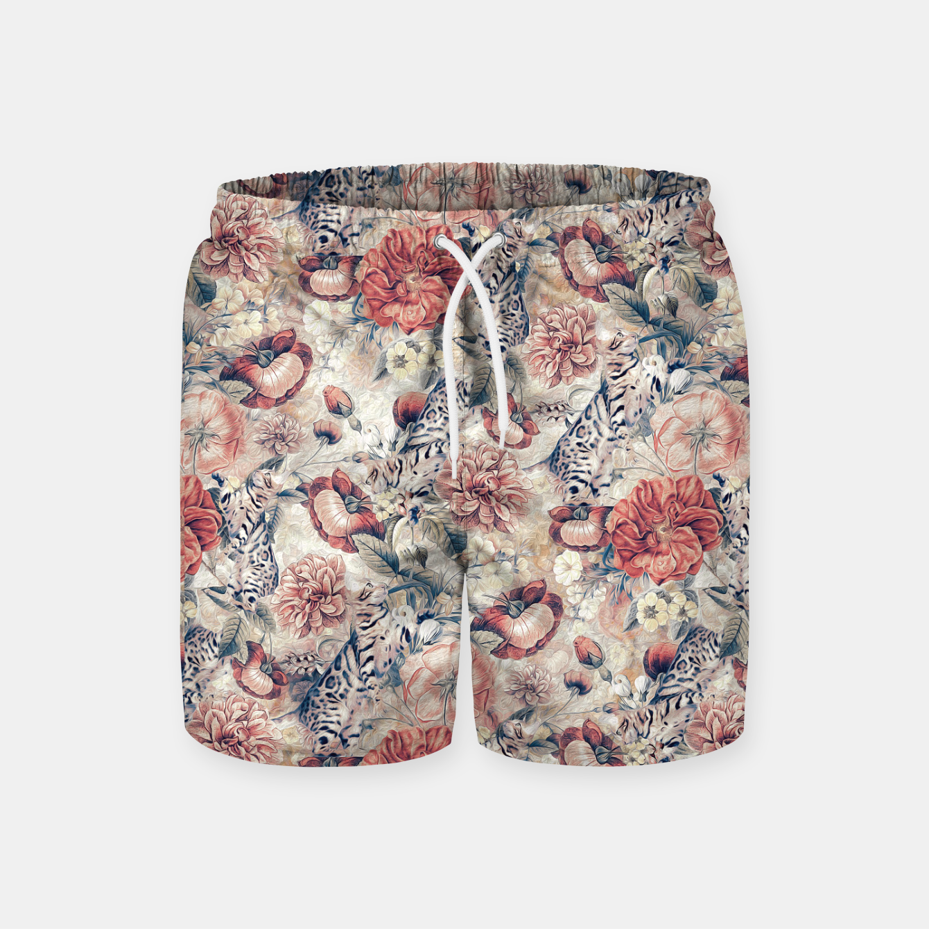 Image of Cats Swim Shorts - Live Heroes