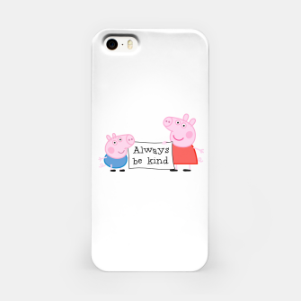 Thumbnail image of Always be kind iPhone Case, Live Heroes