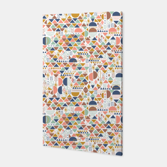 Thumbnail image of Colorful geometric 98 Canvas, Live Heroes