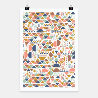 Miniature de image de Colorful geometric 98 Cartel, Live Heroes