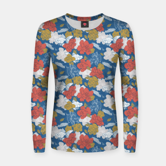 Thumbnail image of Flowers in the sea Sudadera para mujeres, Live Heroes