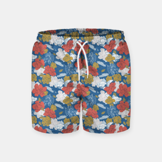 Miniature de image de Flowers in the sea Pantalones de baño, Live Heroes