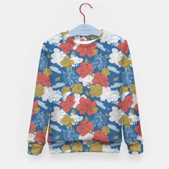 Miniature de image de Flowers in the sea Sudadera para niños, Live Heroes