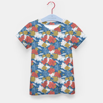 Thumbnail image of Flowers in the sea Camiseta para niños, Live Heroes