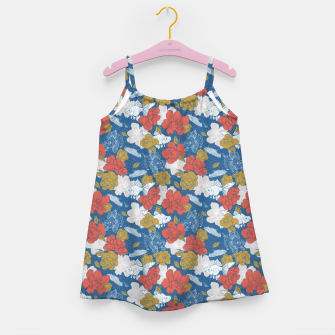Miniature de image de Flowers in the sea Vestido para niñas, Live Heroes