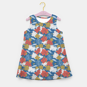 Thumbnail image of Flowers in the sea Vestido de verano para niñas, Live Heroes