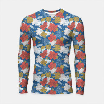 Thumbnail image of Flowers in the sea Longsleeve rashguard, Live Heroes