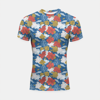 Thumbnail image of Flowers in the sea Shortsleeve rashguard, Live Heroes