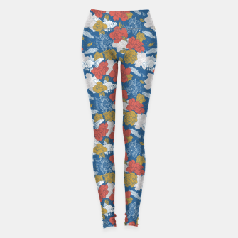 Miniature de image de Flowers in the sea Leggings, Live Heroes