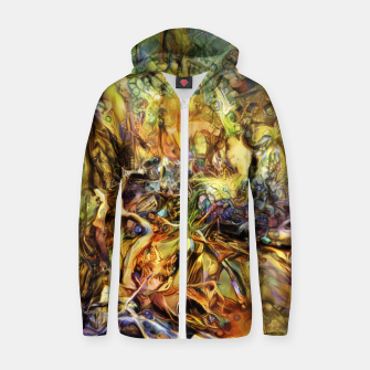 Thumbnail image of Tree Zip up hoodie, Live Heroes