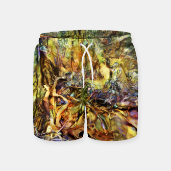 Thumbnail image of Tree Swim Shorts, Live Heroes