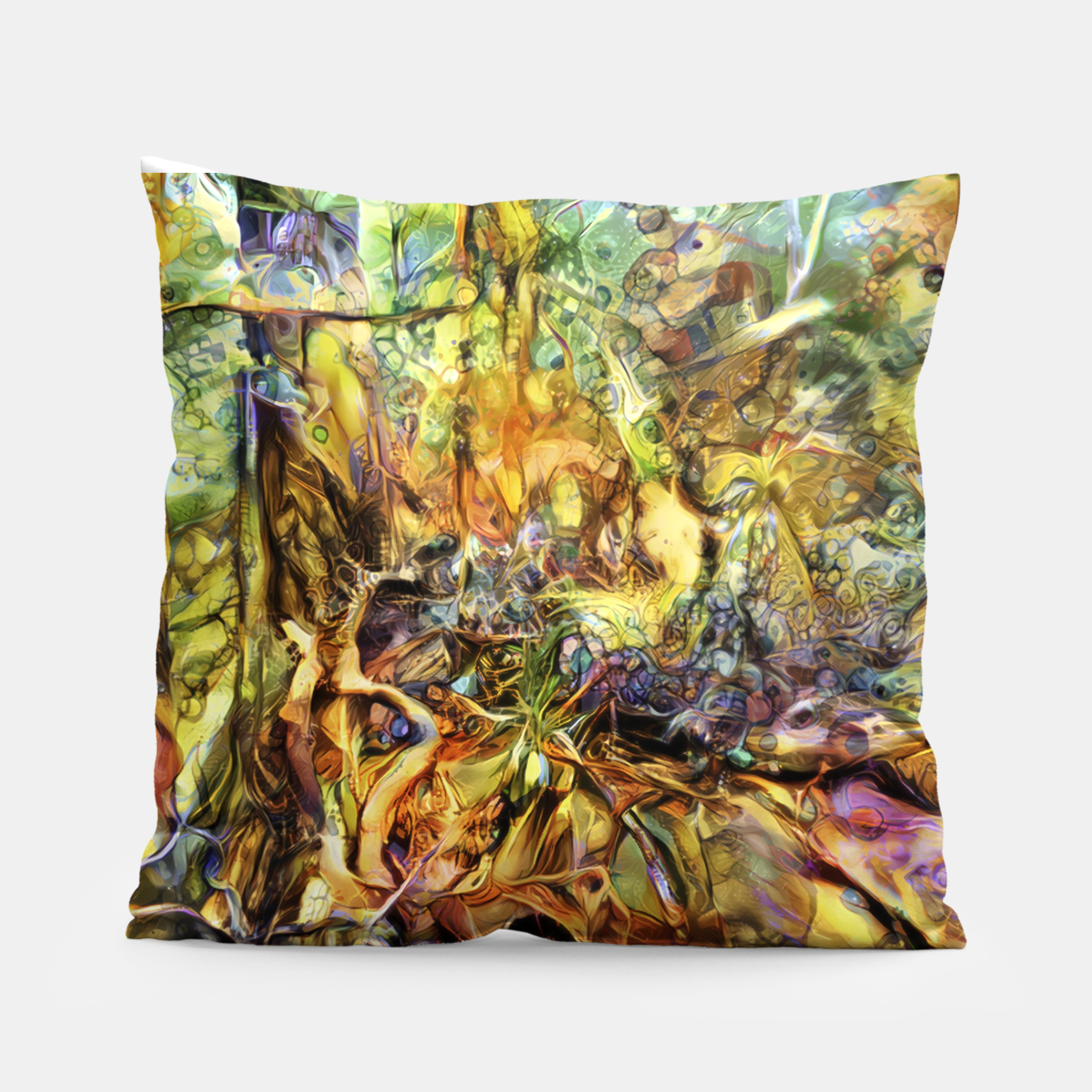 Image of Tree Pillow - Live Heroes